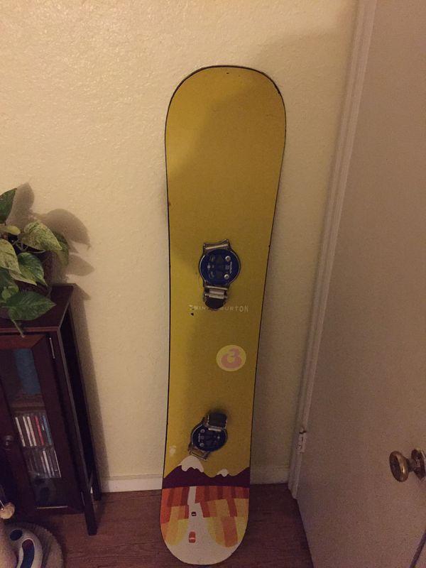 fbe86458bdd Burton snowboard for Sale in Salem