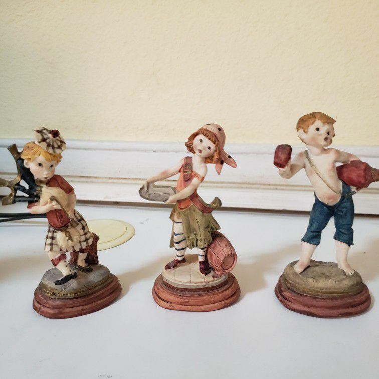 Porcelain Child Figurines