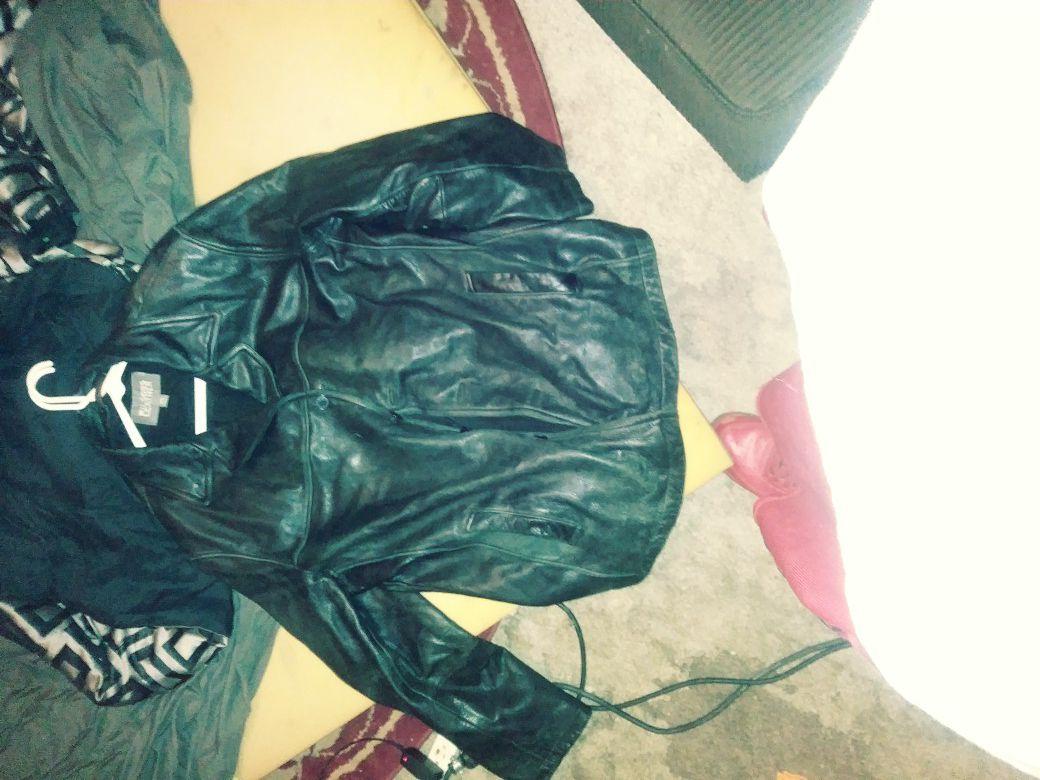 "Leather Jacket ""Wilsons Leather"" xxl"
