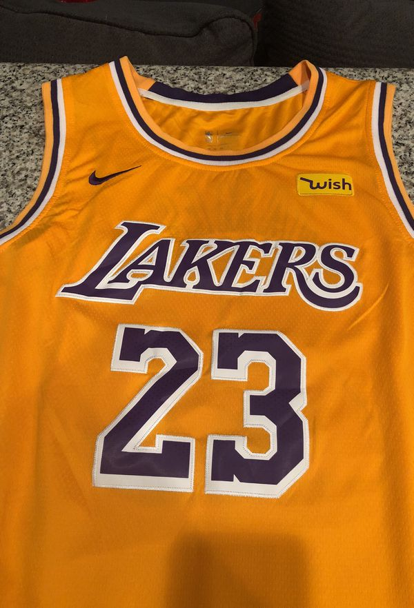 914f8859027 Nike Lebron Lakers Gold showtime jersey size XL for Sale in Tucson ...