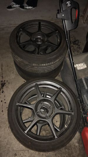 buddy club wheels / rims for Sale in Las Vegas, NV