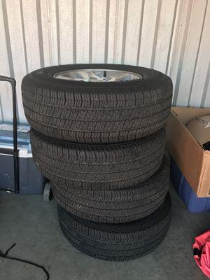 2017 Jeep Wrangler rim and tire for Sale in Manassas, VA