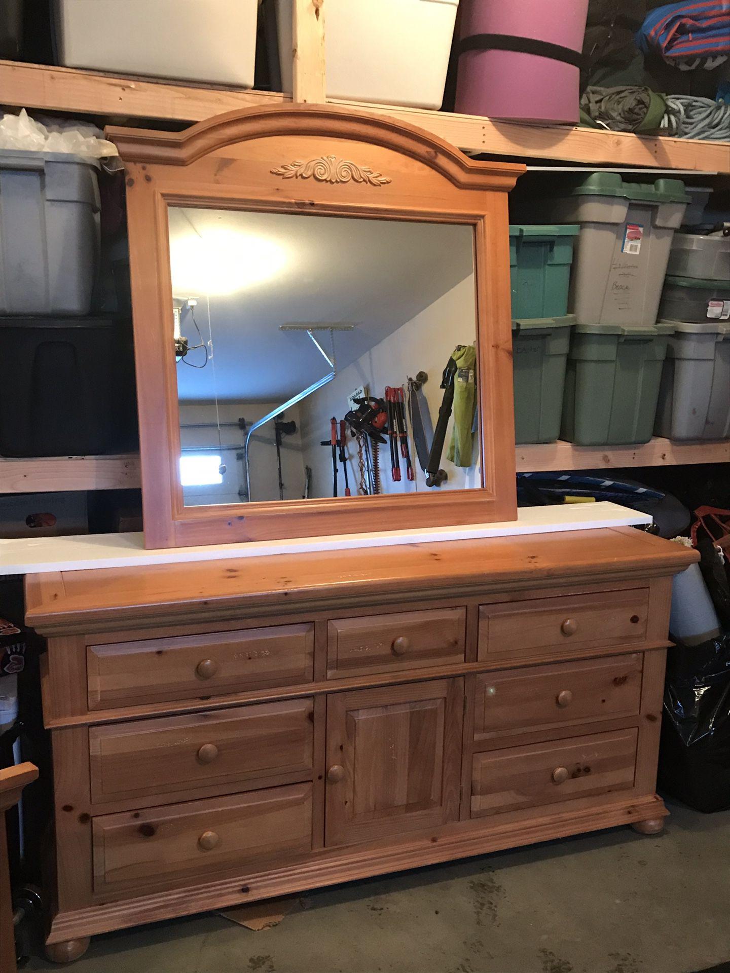 Broyhill bedroom set with queen headboard