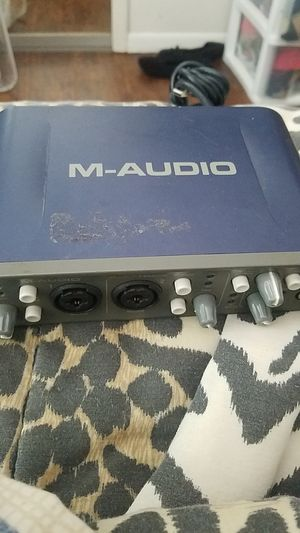 M-Audio fasttrack pro for Sale in Kissimmee, FL
