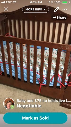 Baby crib for Sale in Lynchburg, VA