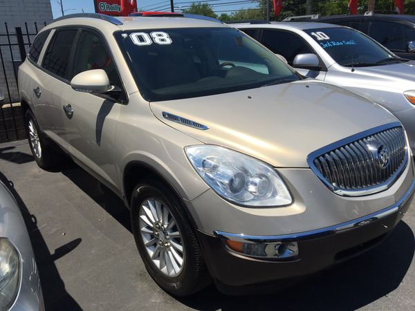08 Buick Enclave 1500 Down 100 We Finance