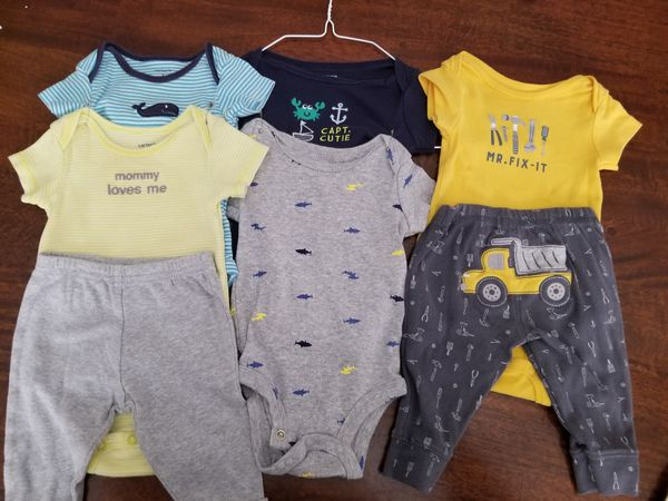 4bcb4cab8 3 month baby boy onesies and pants for Sale in San Jacinto