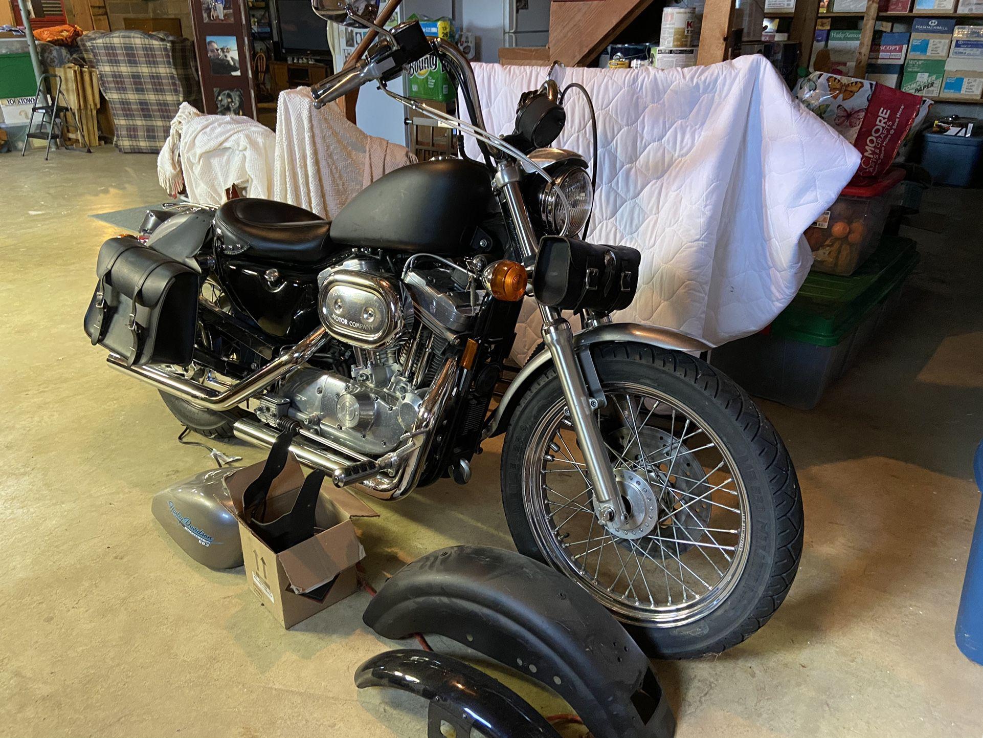 Photo 1996 Harley Davidson XL883