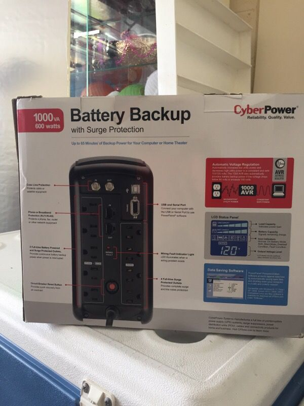 Battery back up brand-new