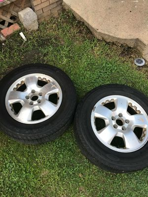 Size 17s tires an rims for Sale in Pittsburgh, PA