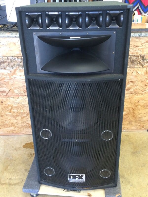 Bose Sound System >> DFX MAG-215 DJ Passive Speakers for Sale in West Covina, CA - OfferUp