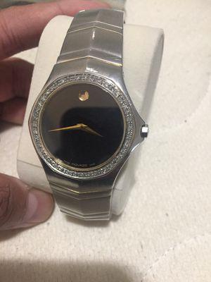 Movado diamond unisex watch for Sale in Washington, DC