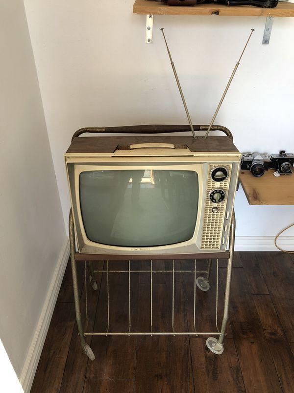 Vintage Retro Television Mid Century Tv Stand Mid Century