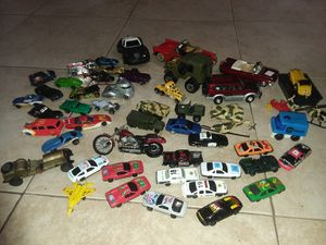 Lot of vintage toys cars for Sale in Calverton, MD