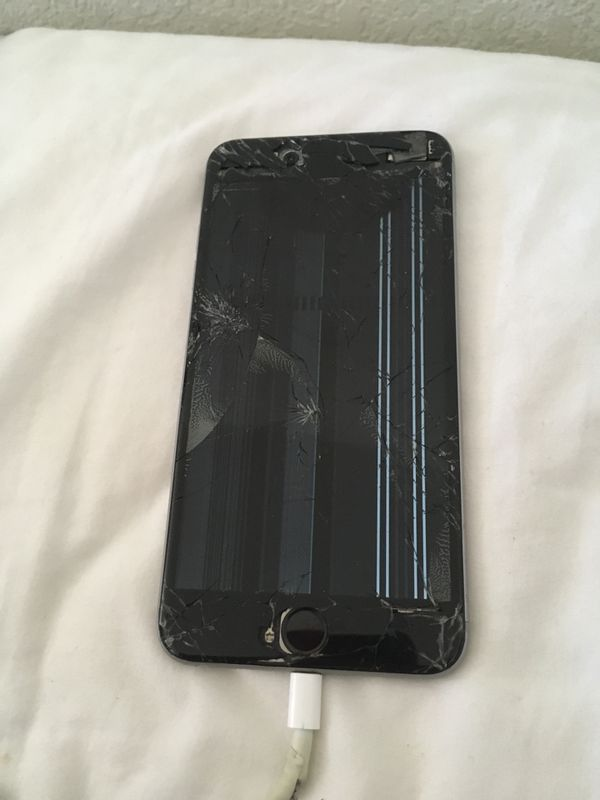 best service b4b2a f841c Broken iPhone 6 Plus - Needs New Display for Sale in Scottsdale, AZ -  OfferUp