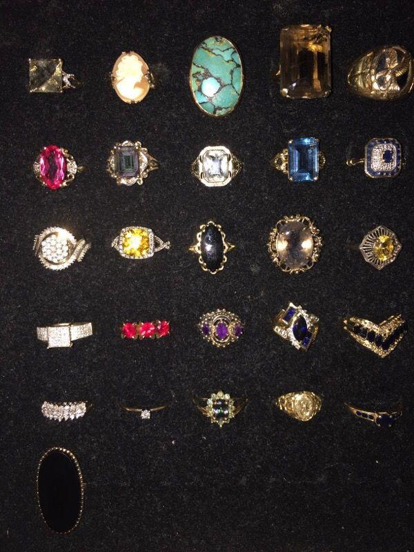 Stunning Gold Rings 10k & 14k