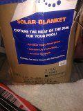 18 x 32 Solar Blanket for pools in box