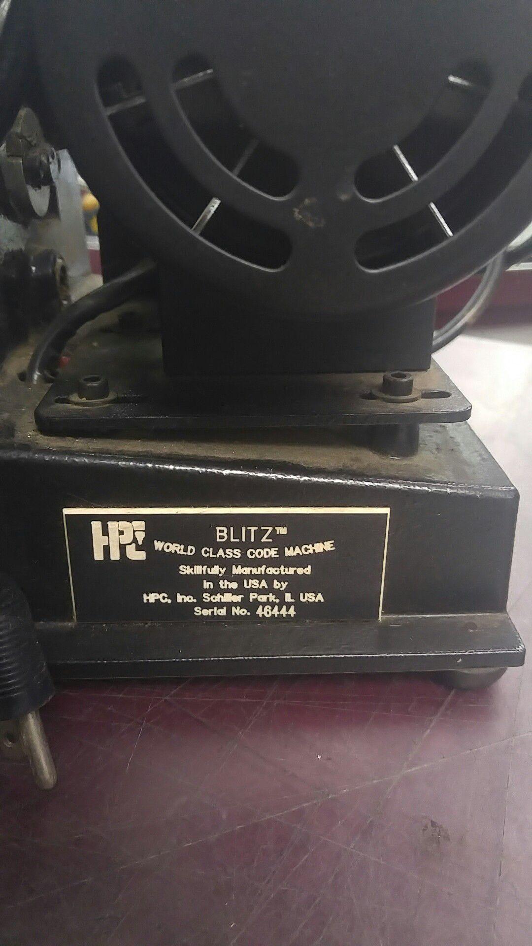 HPC key cutter