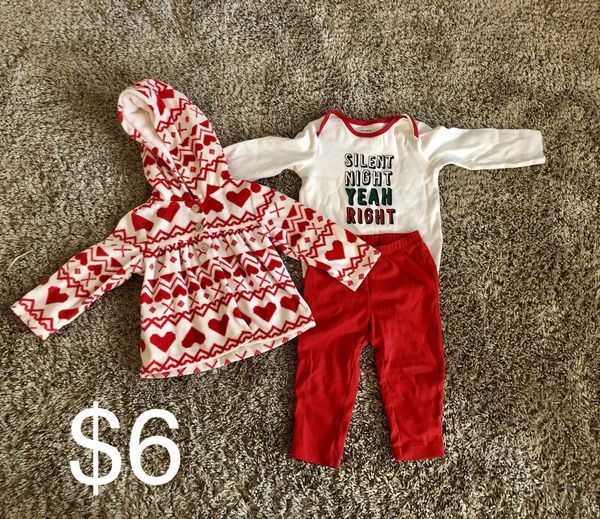 09c9f28cf9bf1 12 month Christmas Outfit for Sale in Elk Grove, CA - OfferUp