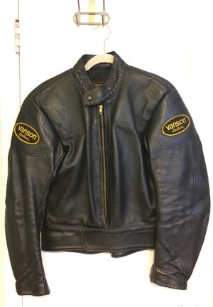 Vanson Leathers Manx Jacket - Size 40 for Sale in Fort Hunt, VA