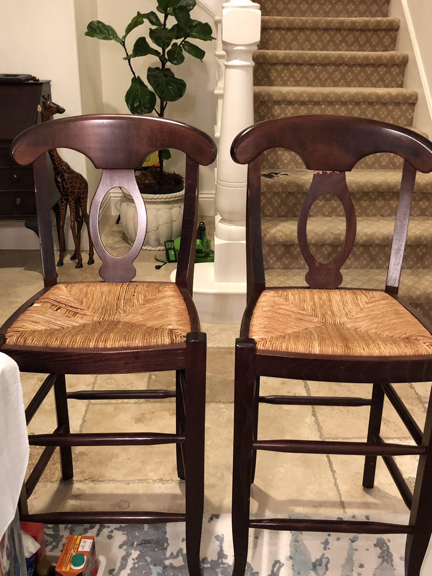 Potterybarn bar stools