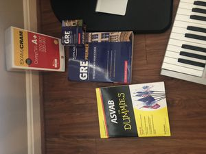 A + certification, ASVAB, GRE Study materials for Sale in Fairfax, VA