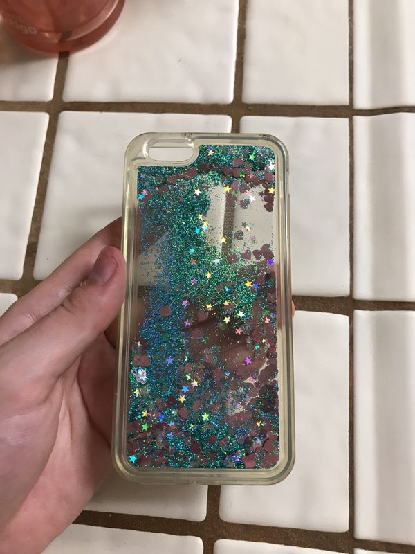 iPhone 5 case. Water filled with sparkles (Cell Phones) in San ...