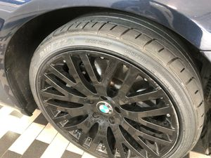 20 INCHES STAGGERED MARCELLINO WHEELS WITH NEW TIRES for Sale in Washington, DC