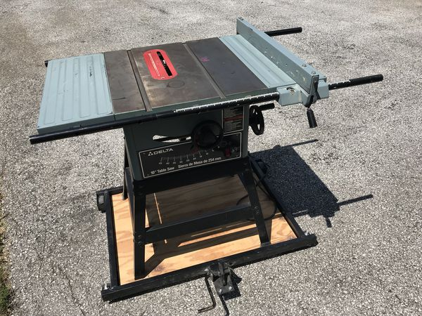 Delta 10 Table Saw 34 670 W Mobile
