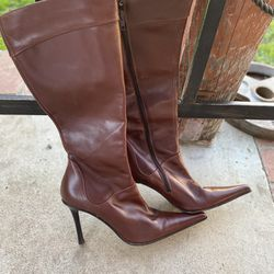 Andrew Steavens Leather Boots Made In Italy Thumbnail