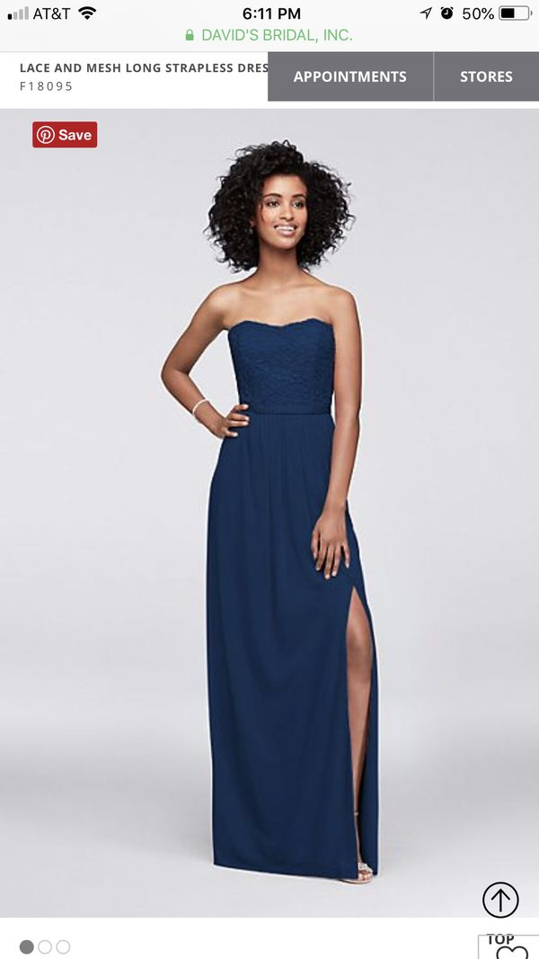 Bridesmaid Gown (blue) $65OBO for Sale in Jacksonville, FL - OfferUp