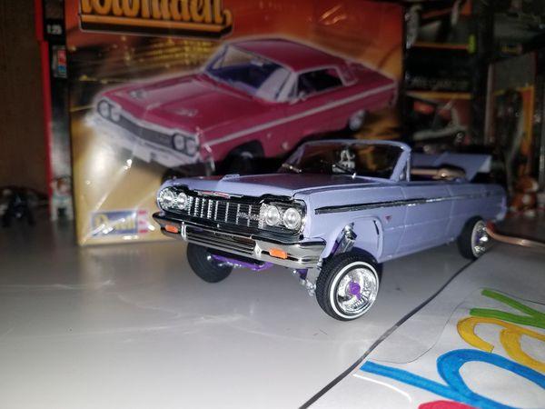 64 Chevy Impala Lowrider Model Kit On Hydraulics
