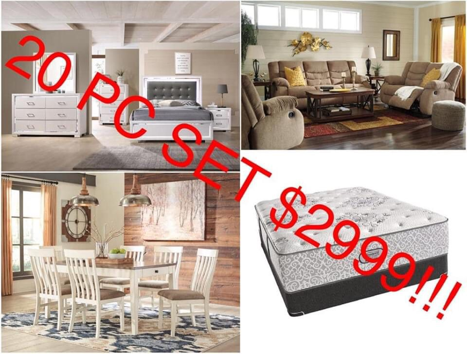 Furniture and mattresses sale