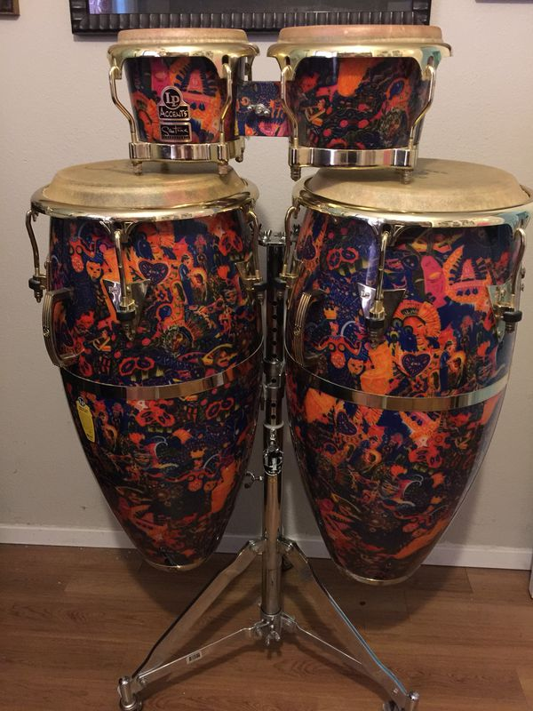 lp accents santana supernatural rare edition congas and bongo for sale in lewisville tx. Black Bedroom Furniture Sets. Home Design Ideas