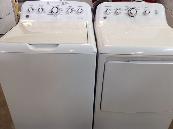 GE top loading Washer and Dryer set for Sale in Austin, TX - OfferUp