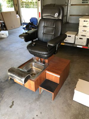 Pibbs Pedicure salon chair for sale  Broken Arrow, OK