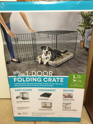 1 Door folding crate for large dogs for Sale in Silver Spring, MD