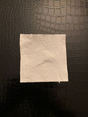 Photo Single piece of toilet paper