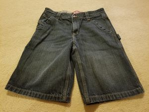 Preowned Size 12 Levis blue jean shorts boys for Sale in Germantown, MD