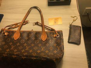 Louis Vuitton bag an belt wallet for Sale in Chantilly, VA