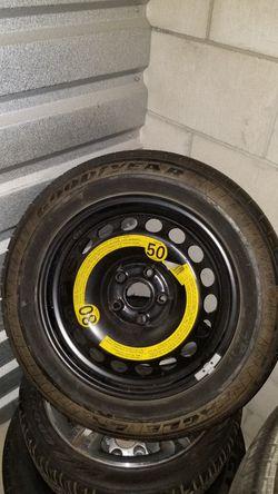215 55 16 Goodyear Tire with 5x114 Rim Thumbnail