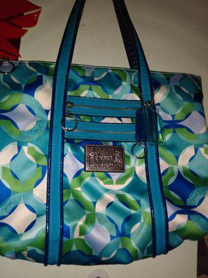 Photo Baby blue coach poppy purse