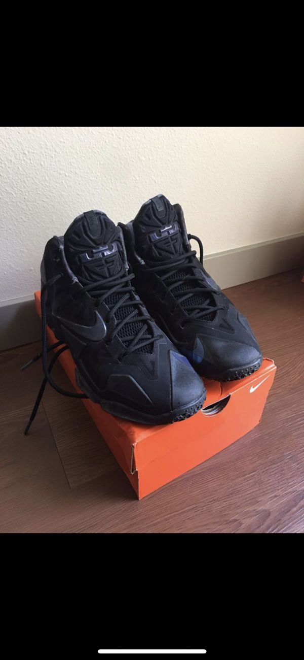 factory price 6a665 342b9 Lebron 11 Blackout Anthracite