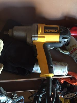Dewalt electric impact 1/2 drive for Sale in Bowie, MD