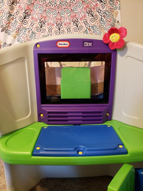 Rare-Little Tikes IBM Young Explorer Desktop 601491 for Sale in ...
