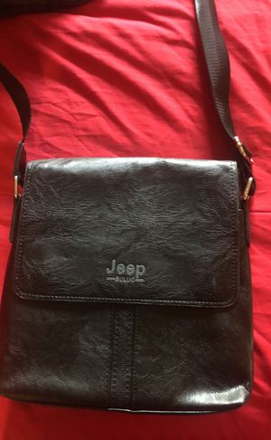 Jeep Bag leather !!! for Sale in Silver Spring, MD