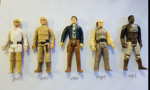 Vintage Star Wars Action Figures 1977-1982 for Sale in Orlando, FL