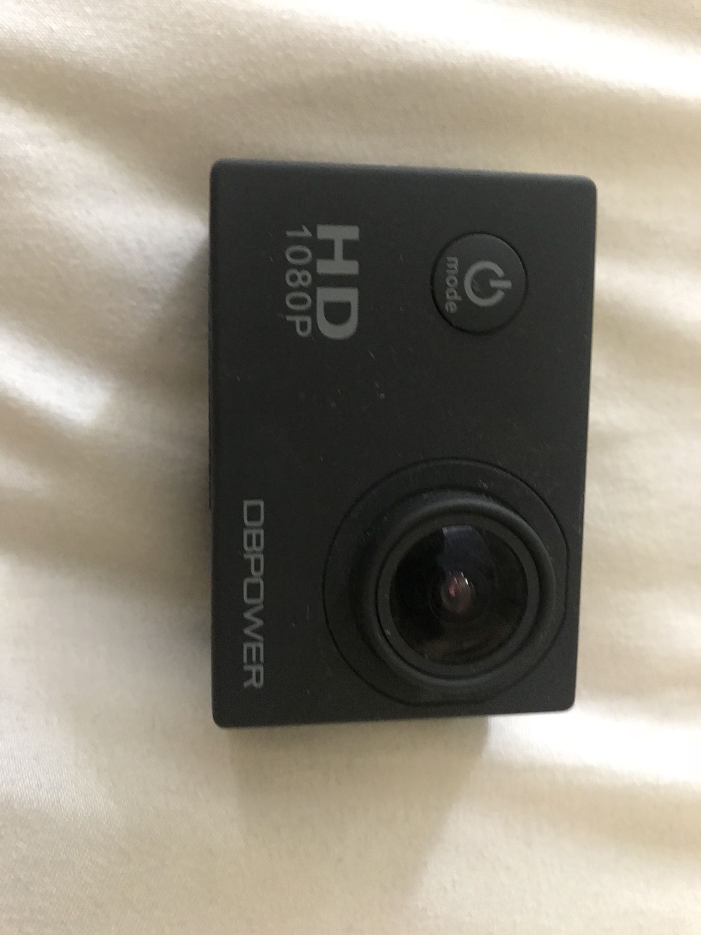 DB 1080p Action Camera with Accessories and Travel Case