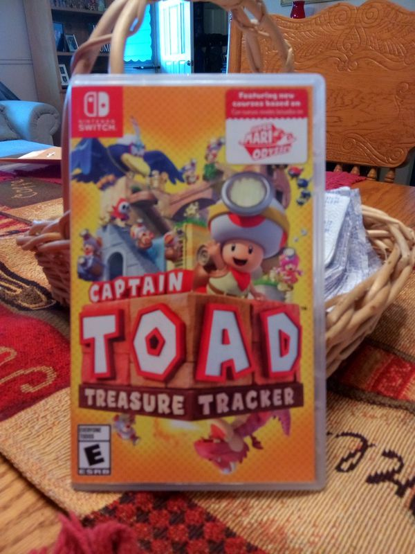 captain toad treasure tracker nintendo switch for sale in maple valley wa offerup