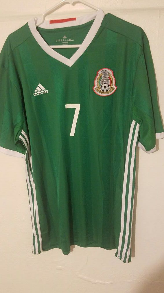 bc3b77cd44a Mexico soccer team Jersey N7 . Layun for Sale in San Jose, CA ...